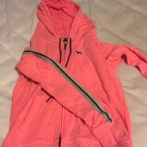 PINK Victoria's Secret Jackets & Coats - Victoria Secret pink zip up